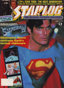 Read more about the article Starlog Magazine June 1987 – Superman IV
