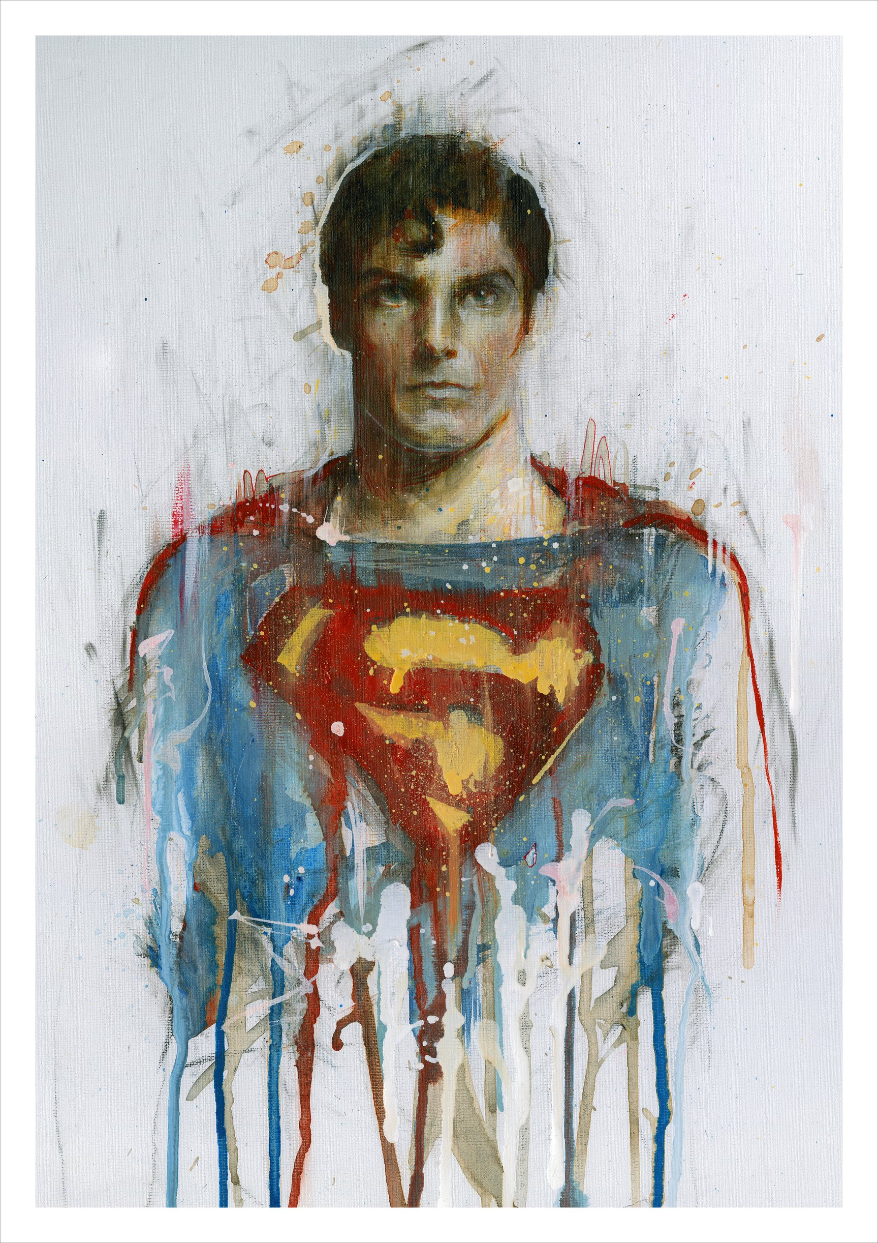 Read more about the article Superman by Carne Griffiths